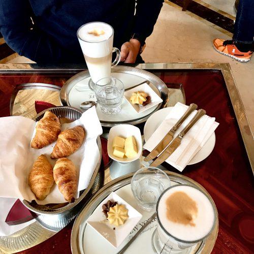 Kaffee im Café New York