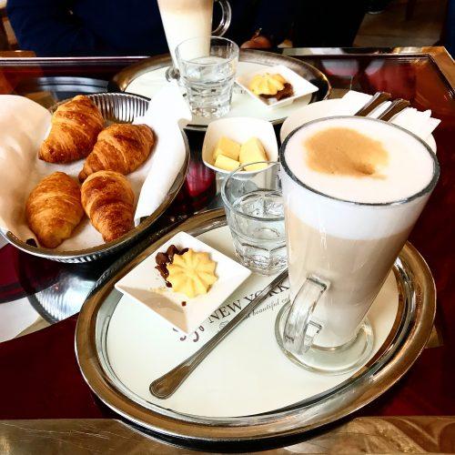 Kaffee im New York Café