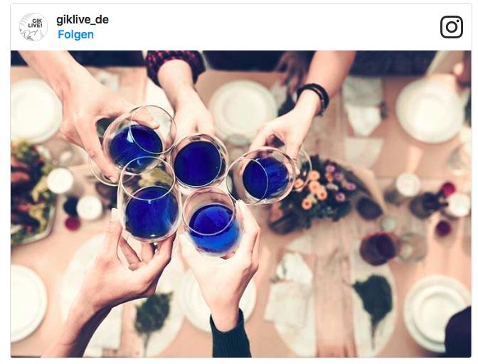 Lifestyle Trend blau und lila