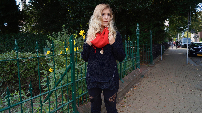 Oversize Pullover Herbst