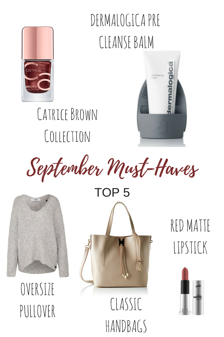 September Must-Haves Beauty & Fashion
