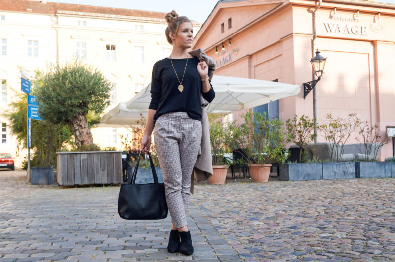 Herbst Bucket List & Fashion-Trend Camel Mantel