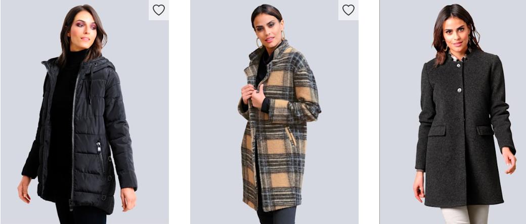 Warme Jacken an kalten Wintertagen - Alba Moda